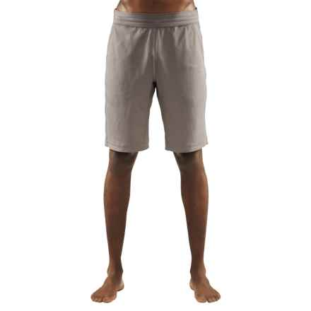 Manduka Ka-Ze Yoga Shorts (For Men) in Fog - Closeouts
