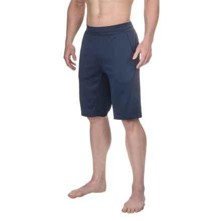Manduka Ka-Ze Yoga Shorts (For Men) in Indigo - Closeouts