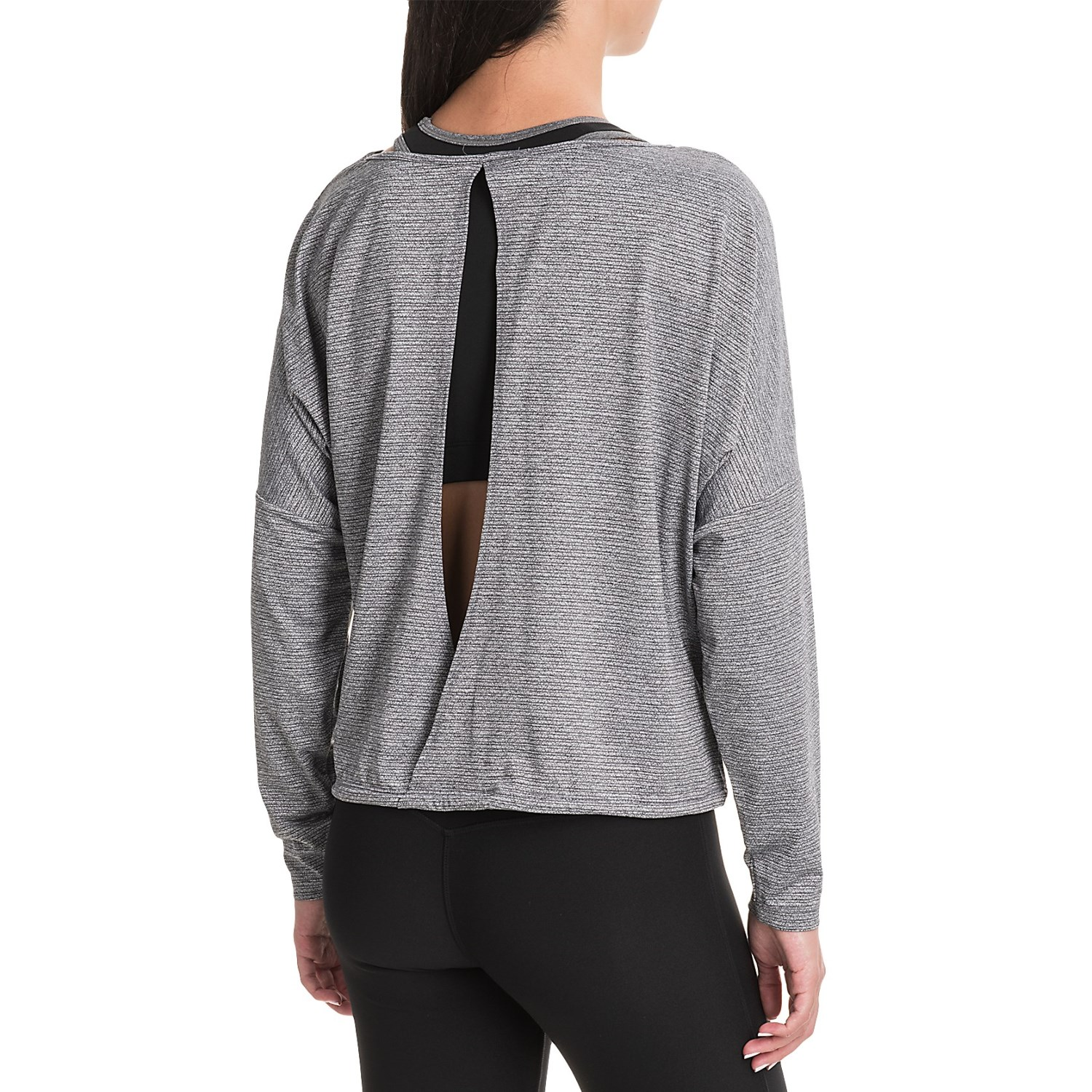Manduka kosha open back shirt for women save 62 for Long sleeve open shirt