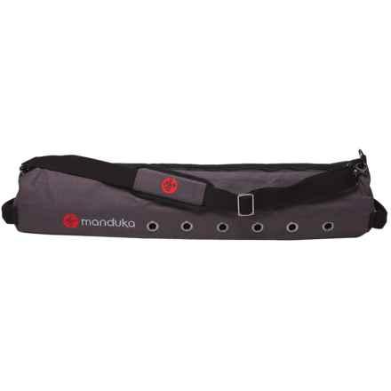 Manduka MatSak Yoga Bag - Large in Graphite - Closeouts