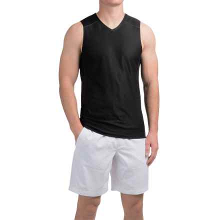 Manduka Minimalist Muscle Tank Top (For Men) in Black - Closeouts
