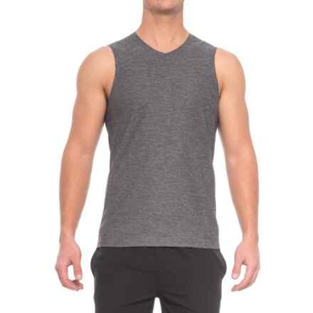 Manduka Minimalist Muscle Tank Top (For Men) in Heather Grey - Closeouts
