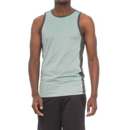 Manduka Minimalist Tank Top (For Men) in Surf Melange - Closeouts