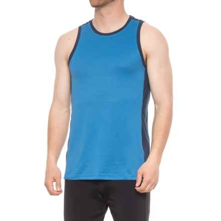 Manduka Minimalist Tank Top (For Men) in True Blue - Closeouts