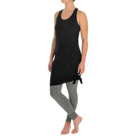 Manduka Racerback Dress - Sleeveless (For Women) in Black - Closeouts
