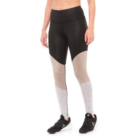 Manduka Radiant Leggings (For Women) in Black Sheen