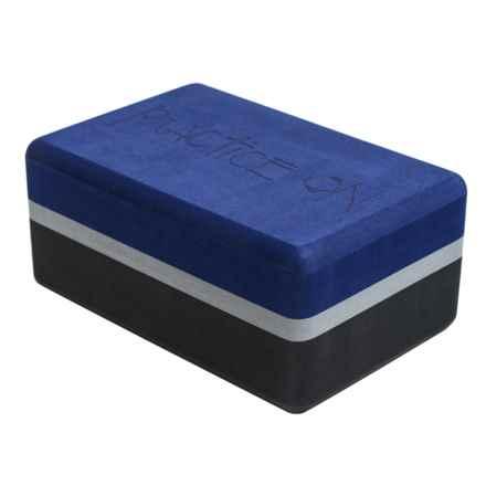 Manduka Recycled Foam Yoga Block in Charcoal - Closeouts