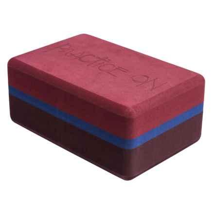 Manduka Recycled Foam Yoga Block in Port - Closeouts