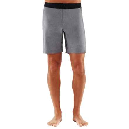 Manduka Soul Surfer Yoga Shorts (For Men) in Flannel - Closeouts