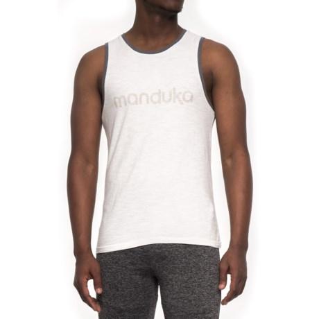 Manduka Tank Top (For Men) in White