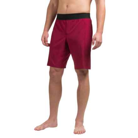 Manduka The Daily Shorts (For Men) in Cordovan - Closeouts