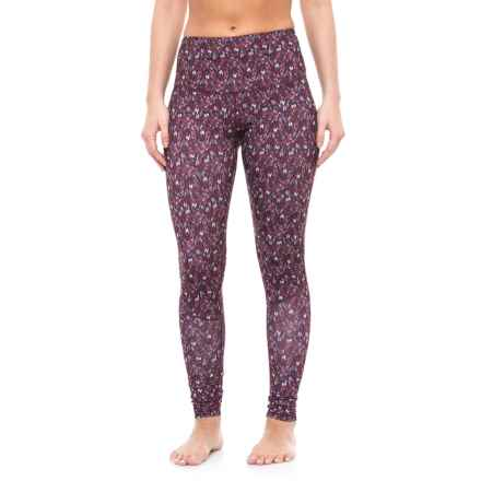 Manduka The High Line Yoga Pants (For Women) in Adaptation Print - Closeouts