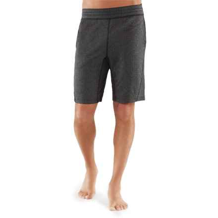 Manduka The Now Yoga Shorts (For Men) in Black Ash - Closeouts