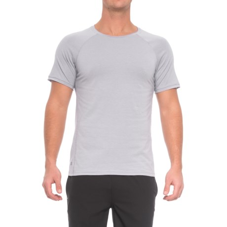 Manduka Transcend High-Performance Raglan T-Shirt - Short Sleeve (For Men)
