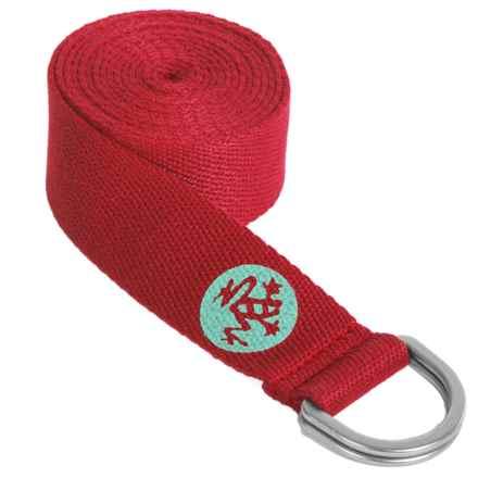 "Manduka UnfoLD Yoga Strap - 6"" in Nia - Closeouts"