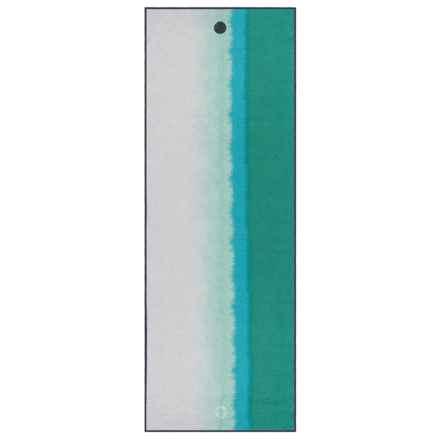 Manduka Yogitoes® Skidless Waterfall Oceana Yoga Mat Towel in See Photo - Closeouts