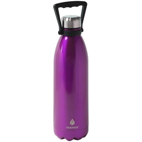 Manna Jumbo Vogue Stainless Steel Water Bottle - 50 fl.oz.