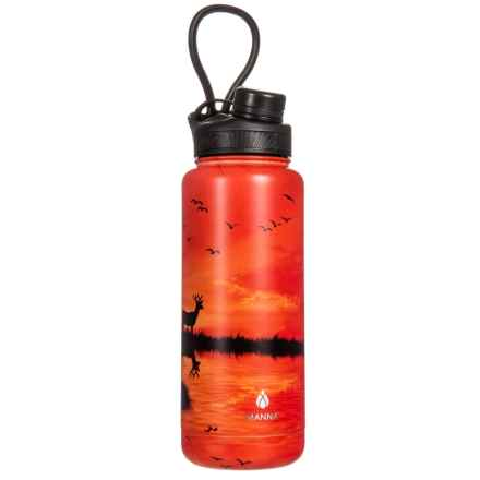 Ranger Pro Outdoor Scenes Stainless Steel Water Bottle - 40 oz. in Elk/Deer Scene - Closeouts