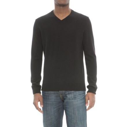 22f75d9d Mantovani Studios Mantovani Studio Cashmere Sweater - V-Neck (For Men) in  Black