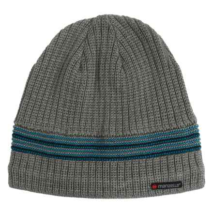 Manzella Allentown Beanie - Wool Blend (For Men) in Gray - Closeouts