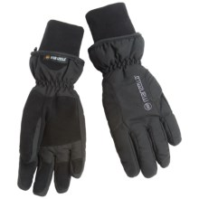 Manzella Alpine Ski Gloves - Waterproof, Insulated (For Women) in Black - Closeouts