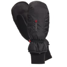 Manzella Alpine Ski Mittens - Waterproof, Insulated (For Women) in Black - Closeouts