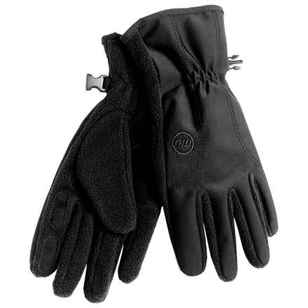 Manzella Equinox Fleece Gloves (For Women) in Black - Closeouts