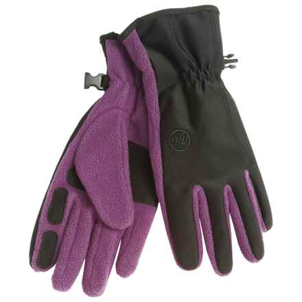 Manzella Equinox Fleece Gloves (For Women) in Platinum - Closeouts
