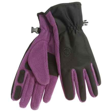 Manzella Equinox Fleece Gloves (For Women) in Platinum - Closeouts
