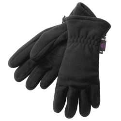 Manzella Insulated Fleece Gloves - Gore Windstopper®  (For Women) in Black