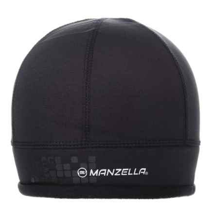 Manzella Kensington Beanie (For Men) in Black - Closeouts
