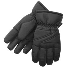 Manzella Ski Gloves - Waterproof (For Women) in Black - Closeouts