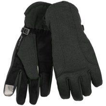 Manzella Soft Shell Commuter Gloves - TouchTip (For Women) in Black - Closeouts