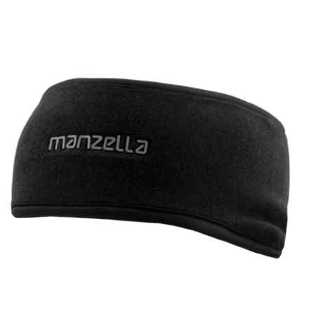 Manzella Tahoe Fleece Headband (For Women) in Black - Closeouts
