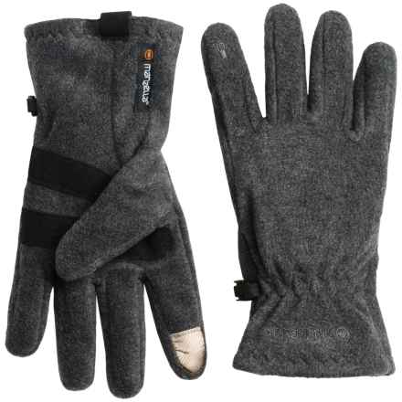 Manzella Tahoe Touchtip Fleece Gloves (For Men) in Charcoal - Closeouts