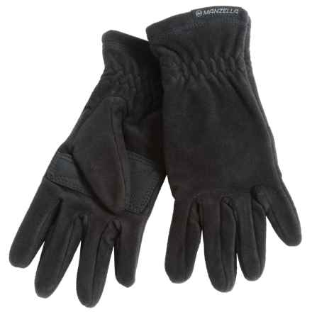 Manzella Tahoe Ultra Fleece Gloves (For Women) in Black - Closeouts