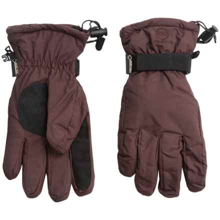 Manzella Typhoon Gore-Tex® Gloves - Waterproof, Insulated (For Men and Women) in Brown - Closeouts