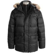 Marc New York by Andrew Marc Alpine Ultra Down Coat (For Men) in Black - Closeouts
