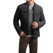 Marc New York by Andrew Marc Baxter Moto Jacket - Insulated (For Men) in Black - Closeouts