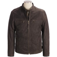 Marc New York by Andrew Marc Blade Jacket - Nubuck Leather, Insulated (For Men) in Dark Brown - Closeouts