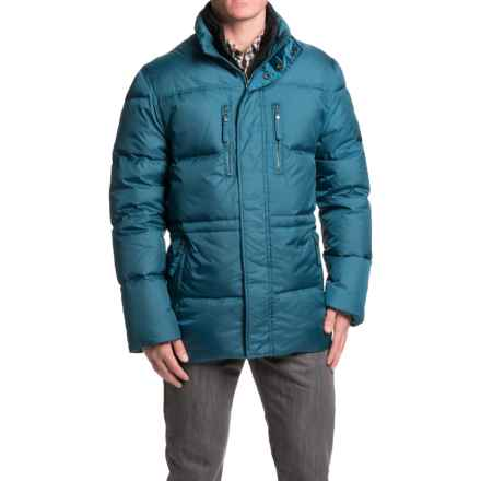 Marc New York by Andrew Marc Blizzard Down Parka (For Men) in Deep Sea - Closeouts