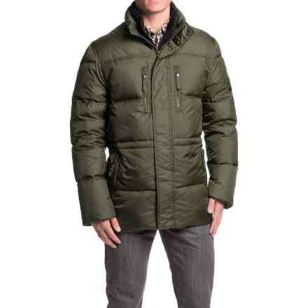 Marc New York by Andrew Marc Blizzard Down Parka (For Men) in Olive - Closeouts