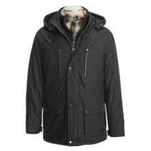 Marc New York by Andrew Marc Brandon Car Coat - Insulated (For Men) in Black - Closeouts