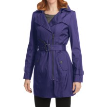 Marc New York by Andrew Marc Colby Trench Coat - Zip-Out Liner (For Women) in Marine - Closeouts
