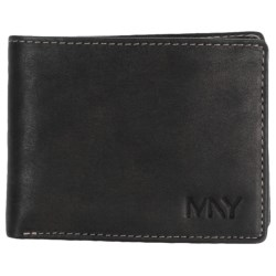 Marc New York by Andrew Marc Cooper Slimfold Wallet in Black