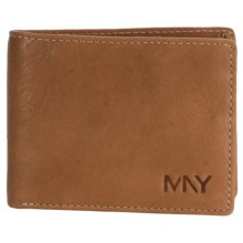 Marc New York by Andrew Marc Cooper Slimfold Wallet in Tan - Closeouts