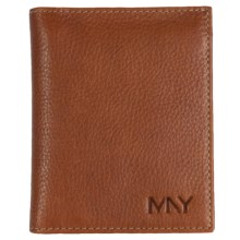 Marc New York by Andrew Marc Cumberland L-Fold Wallet in Brown - Closeouts