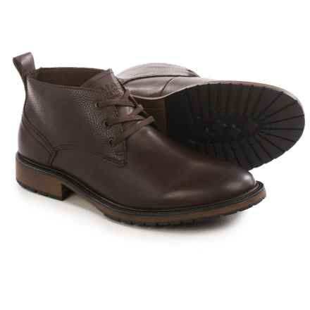 Marc New York by Andrew Marc Essex Chukka Boots - Leather (For Men) in Oxblood/Cymbal - Closeouts