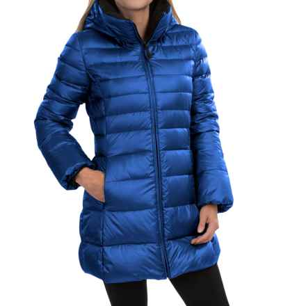 Marc New York by Andrew Marc Eva Sweater Down Coat (For Women) in Cobalt - Closeouts