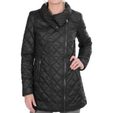 Marc New York by Andrew Marc Fay Asymmetrical Jacket - Quilted (For Women) in Black - Closeouts